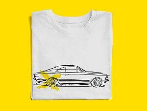 Camiseta Chevy Opala por Adonis Alcici - Desenho Automotivo