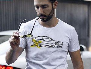 Camiseta VW Gol por Adonis Alcici - Desenho Automotivo