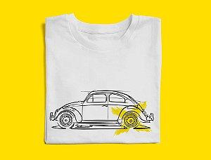 Camiseta VW Fusca por Adonis Alcici - Desenho Automotivo