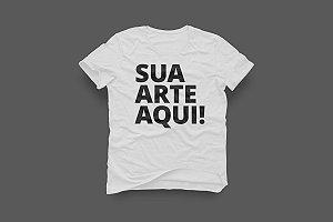 Camiseta customizada feminina (baby look)