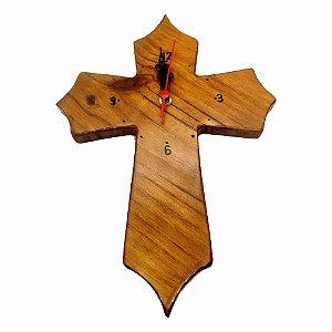 Relógio Cruz Marrom