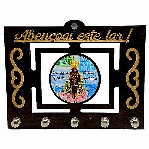 Porta Chave Tabaco - Nossa Senhora