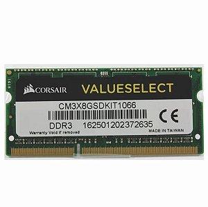 Memoria Notebook 4Gb Ddr3 1066 Sodimm Cm3X4Gsd1066