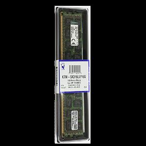 Memoria Servidor 16Gb Ddr3L 1600 Ecc Rdimm Ktm-Sx316Lv/16G