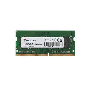 Memoria Notebook 4Gb Ddr4 2666 Sodimm Ad4S2666J4G19-S