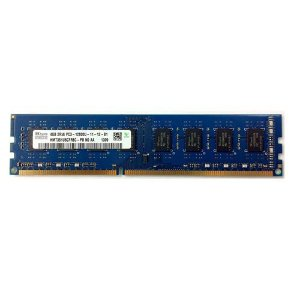 Memoria Pc 4Gb Ddr3 1600 Udimm Hmt351U6Cfr8C-Pb