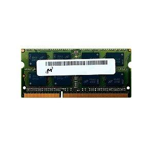 Memoria Notebook 4Gb Ddr3 1333 Sodimm Micron