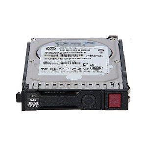 "Hd HP Servidor 300Gb Sas 6Gbs 10K 2,5"" 652566-001"