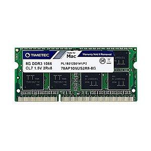 Memoria 8Gb Ddr3 1066 Sodimm 78AP10NUS2R8-8G