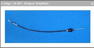 CABO EMBREAGEM FORD DEL REY/PAMPA - 34-208