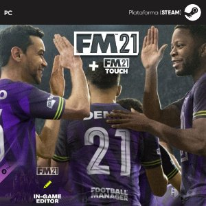 Jogo Football Manager 2021 (Mídia Digital) - PC/Mac