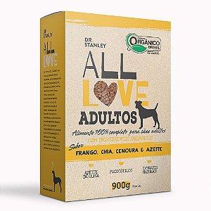 All Love - Adultos | Frango, Chia, Cenoura & Azeite 900g