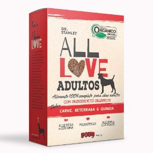 All Love - Adultos | Carne, Beterraba & Quinoa 900g
