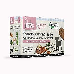 All Love | Comidinha Orgânica para cães Filhotes 1 kg