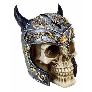 Kit Caneca caveira viking + crânio caveira