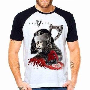 Camiseta Vikings Ragnar Lothbrok manga curta