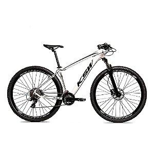 Bicicleta Alum 29 KSW Shimano 27V a Disco Hidráulica e Cassete KRW14