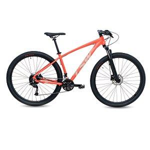 "Bicicleta Alum 29 TSW Hunch Plus 27 Vel Hidraulico Flamingo 17"""