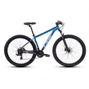 "Bicicleta Aro 29 TSW Ride Plus 21V Azul Met/ Cinza Nac Tamanho Quadro:17"""