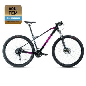 Bicicleta Aro 29 TSW Stamina 27V Preto/Pink