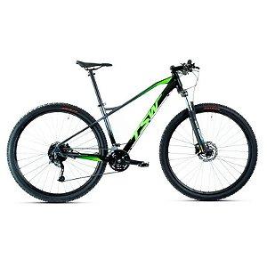 Bicicleta Aro 29 TSW Stamina 27V Preto/Verde