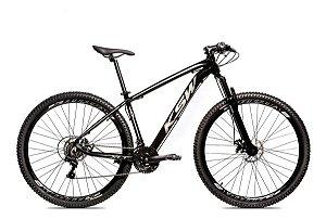 Bicicleta MTB Alum 29 KSW 27 Vel XLT Hidráulica High One Trava Suspensão