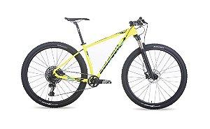 """Bicicleta MTB Aro 29 Audax Auge 700 Amarelo 19"""""""