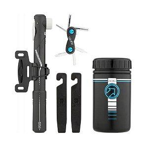 Kit Porta Treco Case PRO + Canivete 6 F + Espatula + Mini Bomba