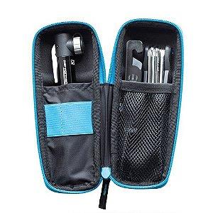 Kit Porta Treco Case Pro C/Canivete 9 Fun / Espatula / Mini Bomba