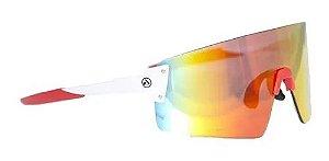 Óculos Absolute Prime Ex Branco/Vermelho