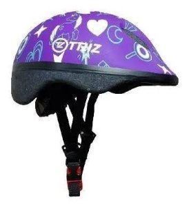 Capacete Bike Triz Baby Roxo
