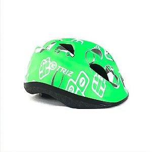 Capacete Bike Triz Baby Verde