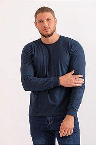 Camiseta Dan azul marinho