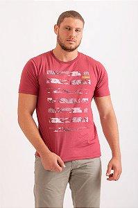 Camiseta Jungle vermelho