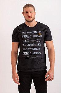 Camiseta Jungle preto