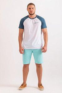 Camiseta Arthur branco c/ azul
