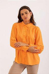 Camisa Eliza laranja