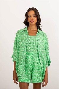 Camisa Top verde