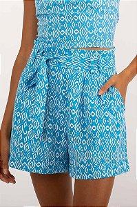 Short Zendaya azul