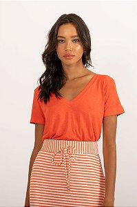 Camiseta Tata laranja