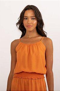 Blusa Garden laranja