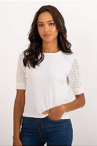 Blusa Lírio branca