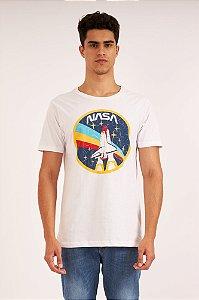 Camiseta Nasa branco
