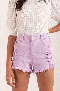 Short Matilda lilás