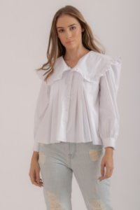 Camisa Camomila branca