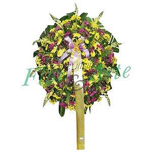 Coroa de Flores Bronze