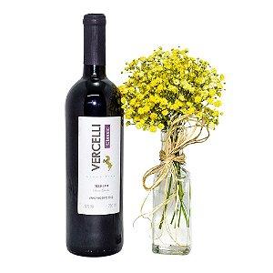 Vinho + Flores