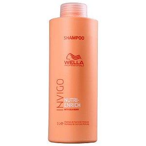 Shampoo Wella Nutri Enrich 1 Litro - Invigo