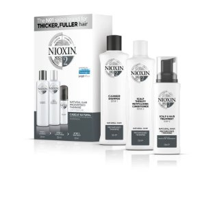 Nioxin Sistema 2 - Kit De Tratamento Loyalty  300 ML Grande (3 produtos)