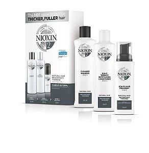 Nioxin Sistema 2 - Kit De Tratamento Loyalty  300 ML Grande (3 produtos)